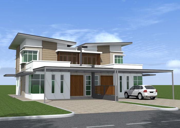 Modern Style Housing Modern House