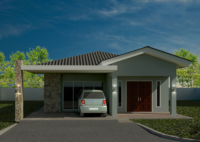Brunei Residential Housing Commercial Projects Semi -Detached ... on house design in malaysia, house design in usa, house design in uae, house design in thailand,